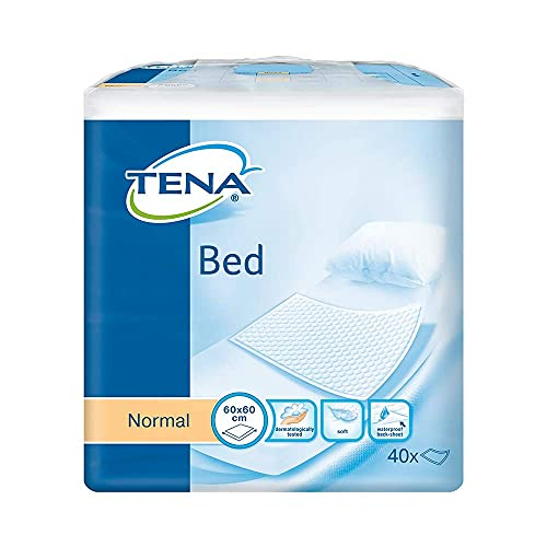 TENA Bed Incontinence Bed Pads - Normal - 60cm x 90cm (4 Packs of 35) from TENA