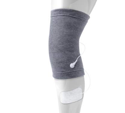 TensCare KneeStim Conductive Garment for Use with TENS and EMS for Knee Pain and Muscle Training (Eligible for VAT relief in the UK) from TENScare