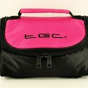 TGC ® Sat Nav GPS Case/Bag for Mappy ITI 400 with shoulder strap and Carry Handle (Hot Pink & Black) from TGC ®