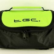 TGC ® Sat Nav GPS Case/Bag for Mappy ulti E507 with shoulder strap and Carry Handle (Green & Black) from TGC ®