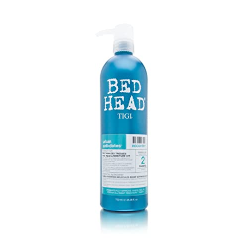 BED HEAD by TIGI Urban Antidotes Recovery Moisturising Shampoo for Dry, Damaged Hair 750 ml from BED HEAD by TIGI