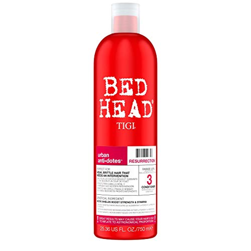 BED HEAD by TIGI Urban Antidotes Resurrection Repair Conditioner for Very Dry, Damaged Hair 750 ml from BED HEAD by TIGI