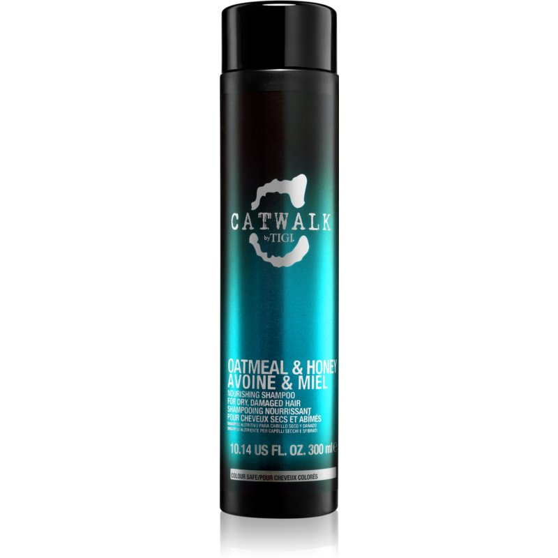 TIGI Catwalk Oatmeal & Honey Nourishing Shampoo For Dry And Sensitised Hair 300 ml from TIGI