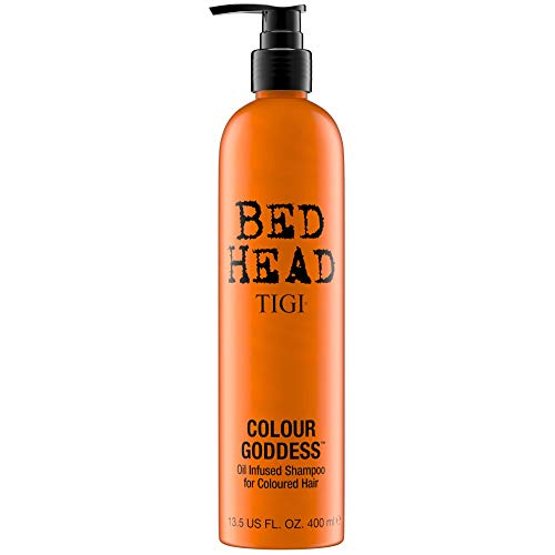 Tigi Bed Head NEW Colour Goddess Oil Infused - hair shampoos (Unisex, Non-professional, Shampoo, Dyed hair, Colour protection, Refreshing, Shine, Smoothing, Vitamin E) from BED HEAD by TIGI