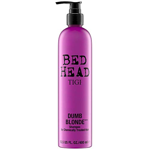 Tigi Bed Head NEW Dumb Blonde - hair shampoos (Unisex, Non-professional, Shampoo, Blonde hair, Shine, Strengthening, Vitamin E) from TIGI