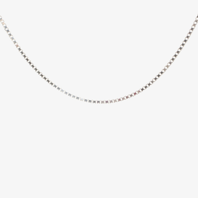 Silver 20 Inch Box Chain 8-16-0035 from Silver Classic