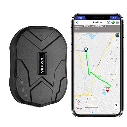 TKSTAR Waterproof GPS Tracker Car GPS Tracker Real Time Tracking Anti Theft Car Security Monitoring System Strong Magnetic 3 Months Long Standby Vehicle Tracker Device, APP for IOS and Android from TKSTAR