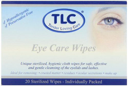TLC Eye Care Sterilized - Pack of 20 Wipes from tlc