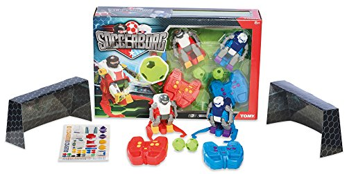 TOMY Soccerborg Radio Controlled RC Robot Football Game - Suitable From 6 years from TOMY