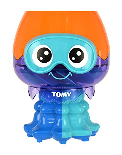 TOMY Toomies Spin and Splash Jellyfish Bath Toy  Suitable From 1 year from Toomies