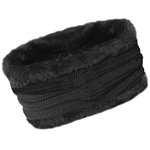 2b2f2ace TOSKATOK® Unisex Mens Ladies Fleece Lined Chunky Knit Slouch Beanie Hat and  Neckwarmer Snood for. found at Amazon Marketplace