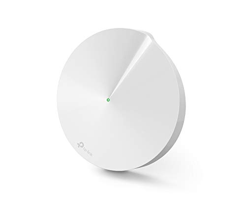 TP-Link Deco M5 Whole Home Mesh Wi-Fi Add-on, Up to 1500 sq ft Coverage Works with Amazon Echo/Alexa and IFTTT, Wi-Fi Booster Replacement, Antivirus Security Protection and Parental Control, Pack of 1 from TP-LINK