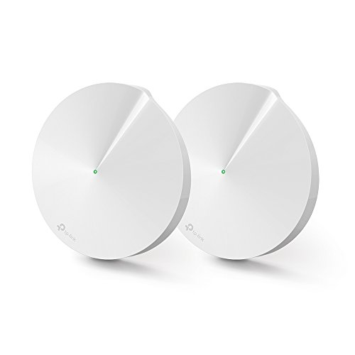 TP-Link Deco M5 Whole Home Mesh Wi-Fi, Up to 3000 sq ft Coverage, Works with Amazon Echo/Alexa and IFTTT, Wi-Fi Booster Replacement, Antivirus Security Protection and Parental Controls, Pack of 2 from TP-LINK