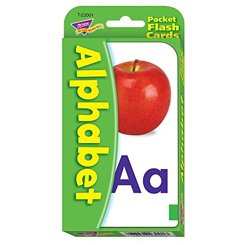 Trend Enterprises Alphabet Pocket Flash Cards from Trend Enterprises Inc