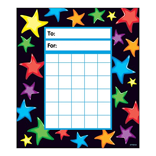 Trend Gel Stars Behaviour Charts from TREND ENTERPRISES INC.