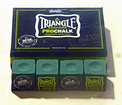 4 X PCS TRIANGLE PRO CHALK FOR THE SERIOUS PLAYER** from TRIANGLE PRO CHALK