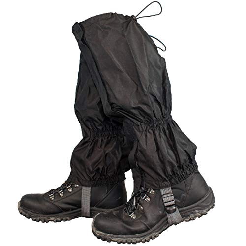 TRIXES 1 Pair Hiking Gaiters Waterproof Outdoor Walking Climbing Snow Legging Gaiter from TRIXES