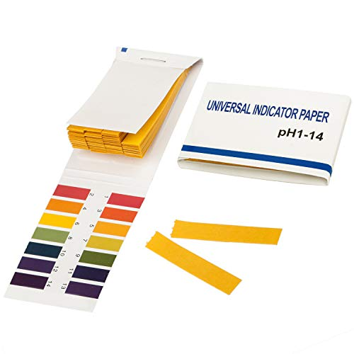 TRIXES Litmus pH 1 to 14 Test Paper Book 80 Strips from TRIXES