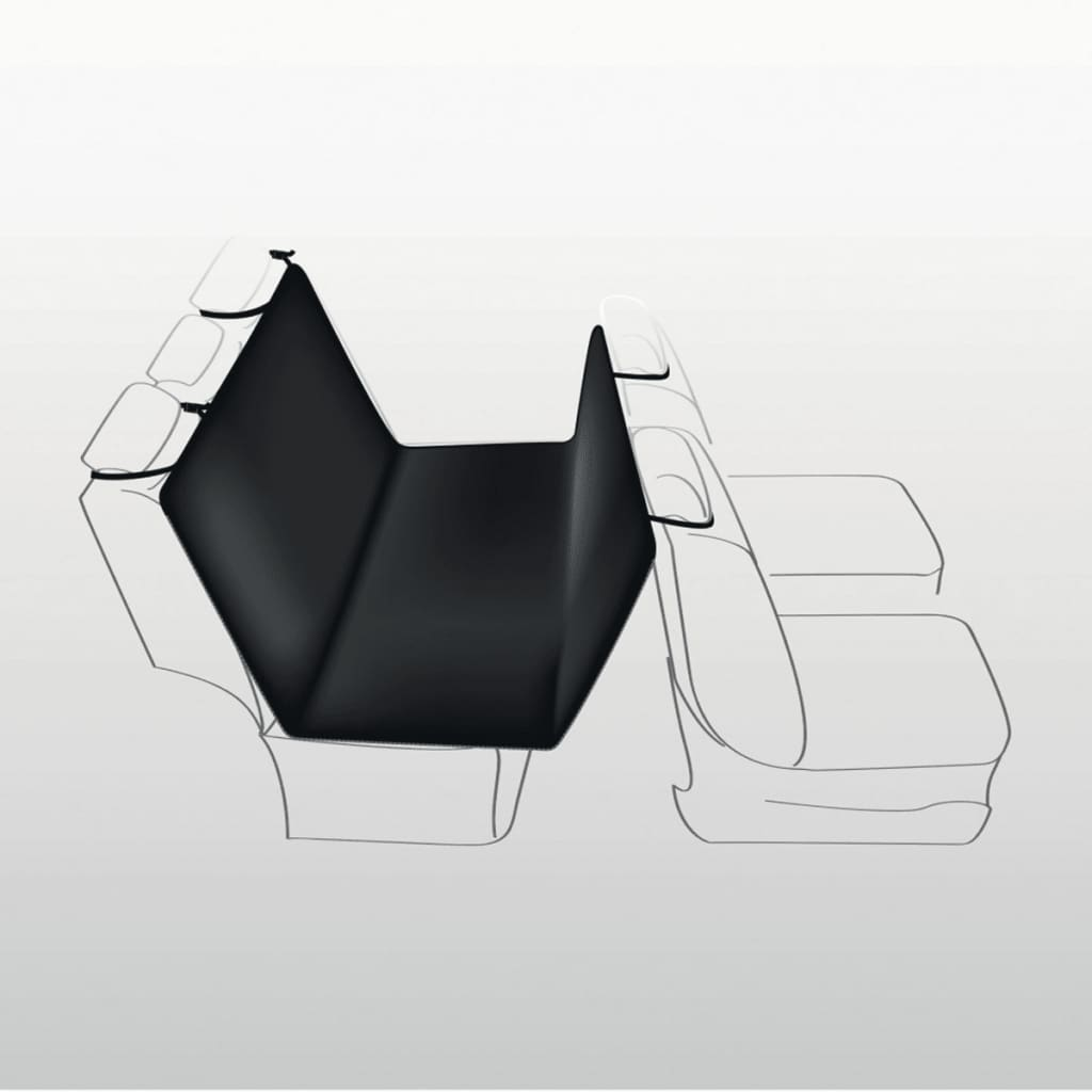 TRIXIE Car Dog Seat Cover 160x145 cm Black 13472 from TRIXIE