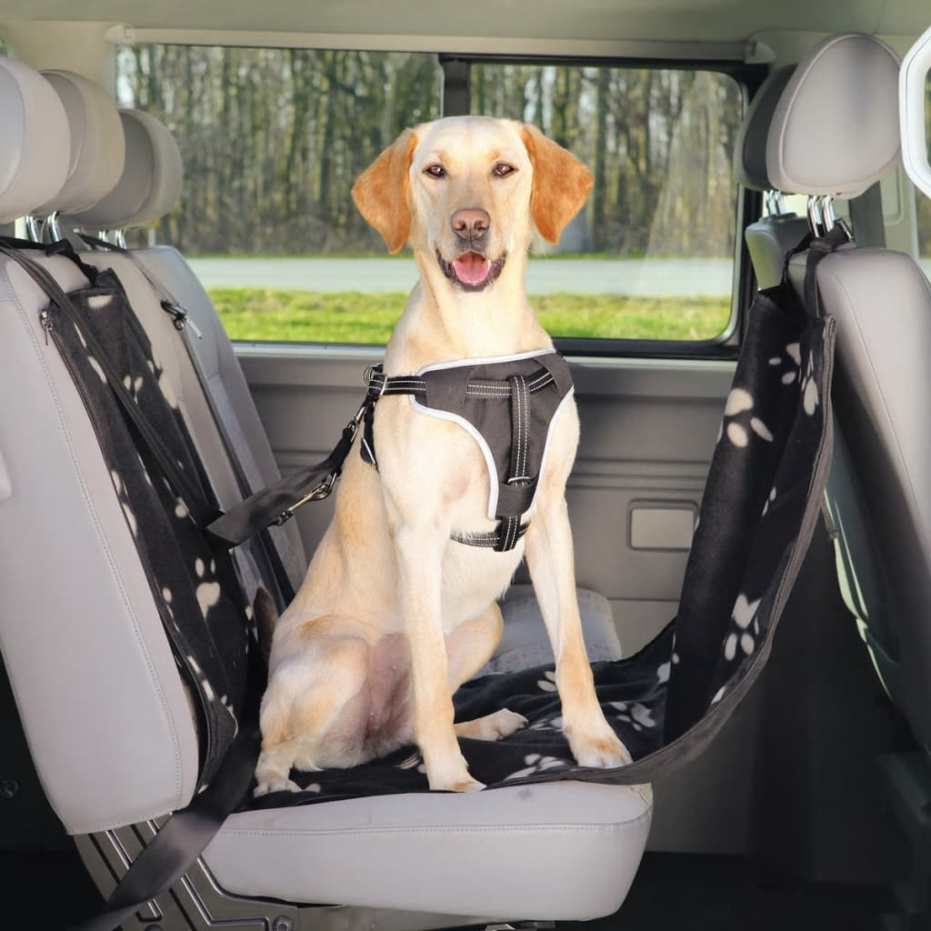 TRIXIE Car Seat Cover for Dogs 65x145 cm Black and Beige 13231 from TRIXIE