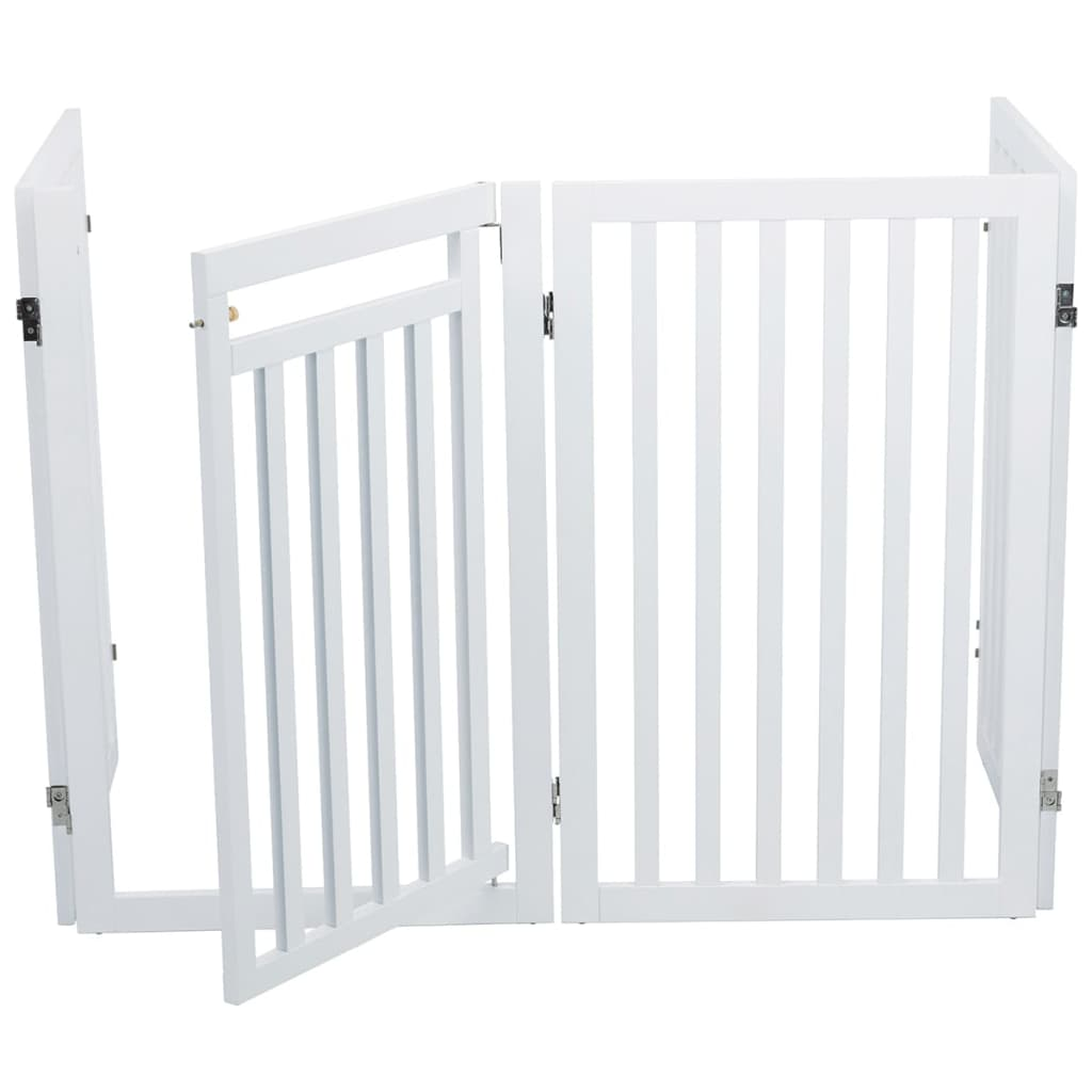 TRIXIE Dog Gate 60-160 cm White 39363 from TRIXIE