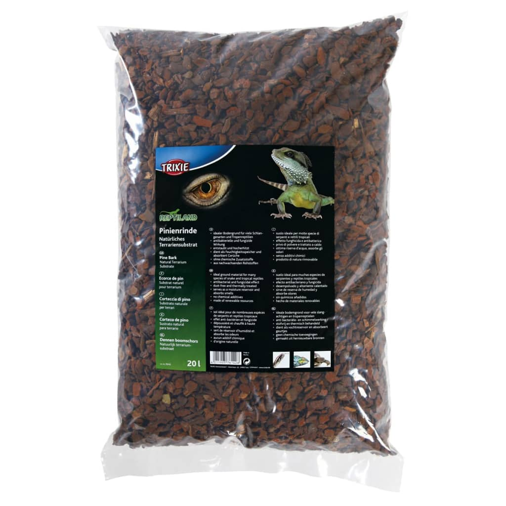 TRIXIE Pine Bark Substrate REPTILAND 20 L 76142 from TRIXIE