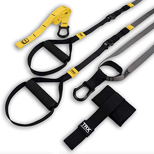 TRX Training - GO Suspension Trainer Kit, Lightest, Leanest Suspension Trainer Ever - Perfect for Travel and Working Out Indoors & Outdoors (Black) from TRX