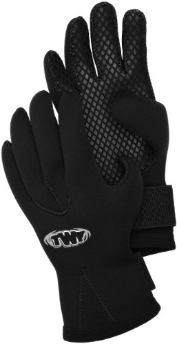 TWF 3mm Gloves - Black, Large from TWF