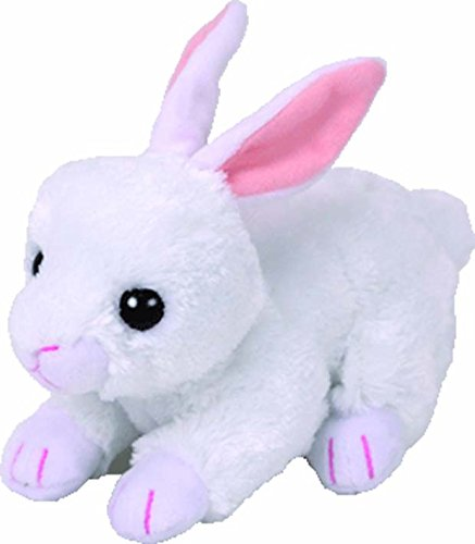 TY 42267 Cotton Rabbit White 15 cm Beanie Babies, Easter Limited from Ty