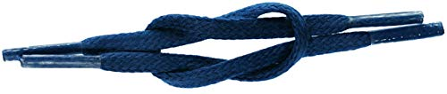 Flat Waxed 5mm x 75cm Cobalt Blue from TZ Laces & Shoes