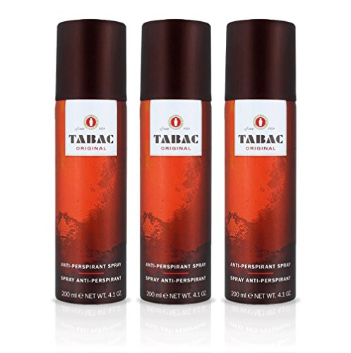 TABAC Original Deodorant Anti-Perspirant, 200 ml - Pack of 3 from Tabac