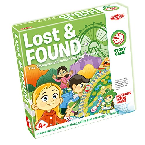 Tactic 54889 Lost and Found Story Games from Tactic