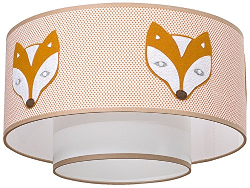 Taftan Ceiling Lampshade Fox (35 cm) from Taftan