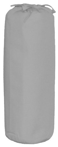 Taftan Uni Colour Fitted Sheet (Grey) from Taftan