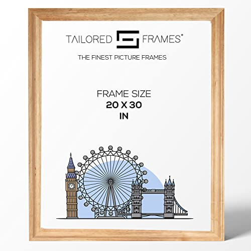 "Tailored Frames Solid Antique Pine Wooden Picture Frame | No 19 | Photo Frame 20"" x 30"" to Wall Hang from Tailored Frames"