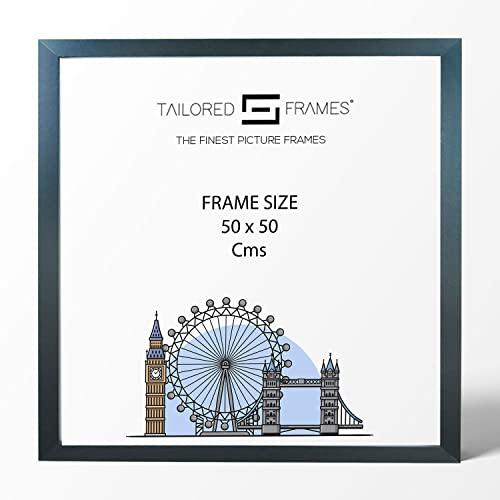 Tailored Frames Square Design MDF Picture and Photo Frames, Black, 50 x 50cm from Tailored Frames