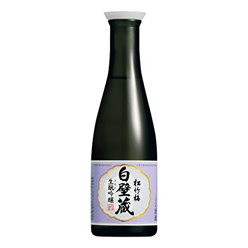 Takara Shirakabegura Kimoto Ginjo Sake, 180 ml, Pack of 3 from Takara
