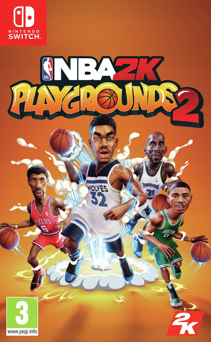 NBA Playgrounds Nintendo Switch Game from Take 2