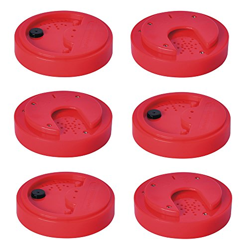 Talking Products, Red Talking Tins, TPD-40-RED-6, 40 Seconds, Pack of 6 from Talking Products