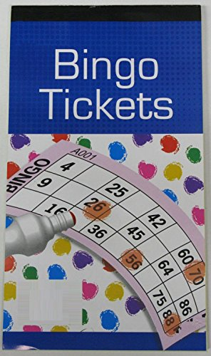 bingo tickets x 1 pad/booklet from Atlona