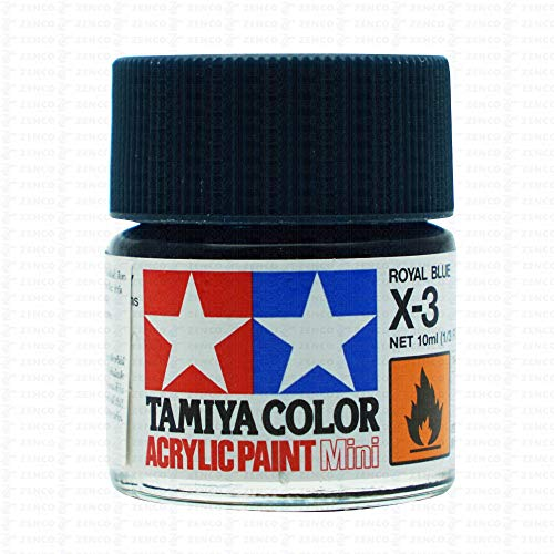 Tamiya Acrylic Mini X-3 Royal Blue from Tamiya