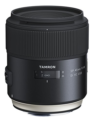 Tamron F1.8 VC 45mm USD Lens for Canon - Black from Tamron