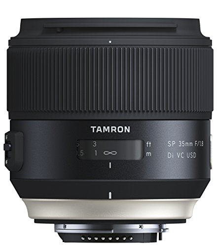 Tamron F1.8 VC 45mm USD Lens for Nikon - Black from Tamron