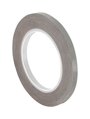 "TapeCase 0.125-36-204-10 Tan PTFE Film Tape 204-10, 36 yd Length, 0.125"" Width from TapeCase"