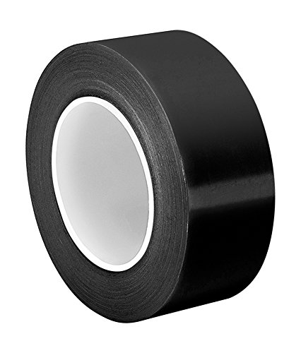 "TapeCase 1.625-36-403-5BNC Black Antistatic UHMW Polyethylene Tape 403-5BNC, 0.005 mil Thickness, 36 yd Length, 1.625"" Width from TapeCase"