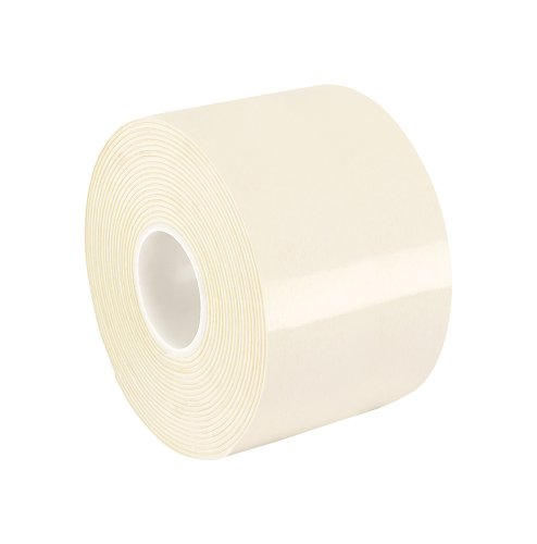 "TapeCase 10-5-VF32W White Double Coated Vinyl Foam Tape, -18 to 107 Degrees Celsius Temperature Range, 0.031"" Thick, 5"" Length, 10"" Width from TapeCase"