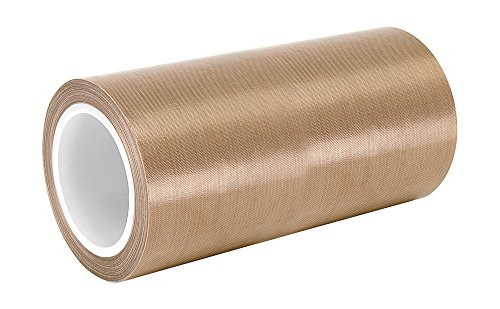 "TapeCase 11-36-SG05-10 Brown Fiberglass/PTFE Impregnated Fabric Tape, -100 to 500 degrees F Temperature Range, 36 yd Length, 11"" Width from TapeCase"