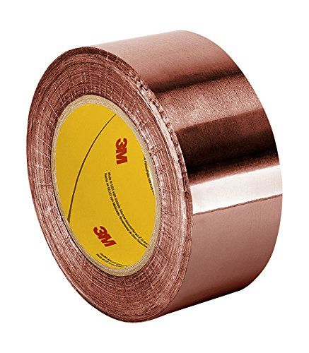 "TapeCase 1126 4"" x 36yd Copper Foil Tape with Acrylic Adhesive, Converted from 3M 1126, 36 yd. Length, 4"" Width, Roll from 3M"