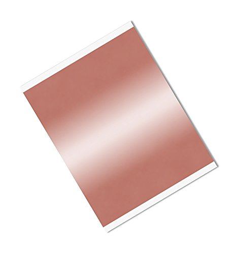 "TapeCase 1181 6"" x 10.5""-25 Copper/Acrylic Adhesive, Foil Tape with Conductive Adhesive-Converted from 3M 1181, 6"" x 10.5"" Rectangles, Length: 10.5"", Width: 6"" (Pack of 25) from 3M"