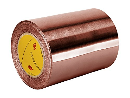 "TapeCase 1182 11"" x 18yd 1182 Copper/Acrylic Adhesive, Double-sided Foil Tape with Conductive Adhesive-Converted from 3M, 18 yd. Length, 11"" Width from 3M"